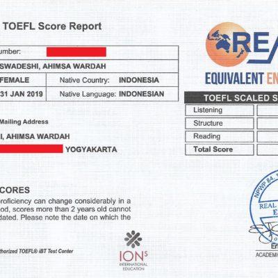 "Kekuatan ""lain"" dalam Tes TOEFL"